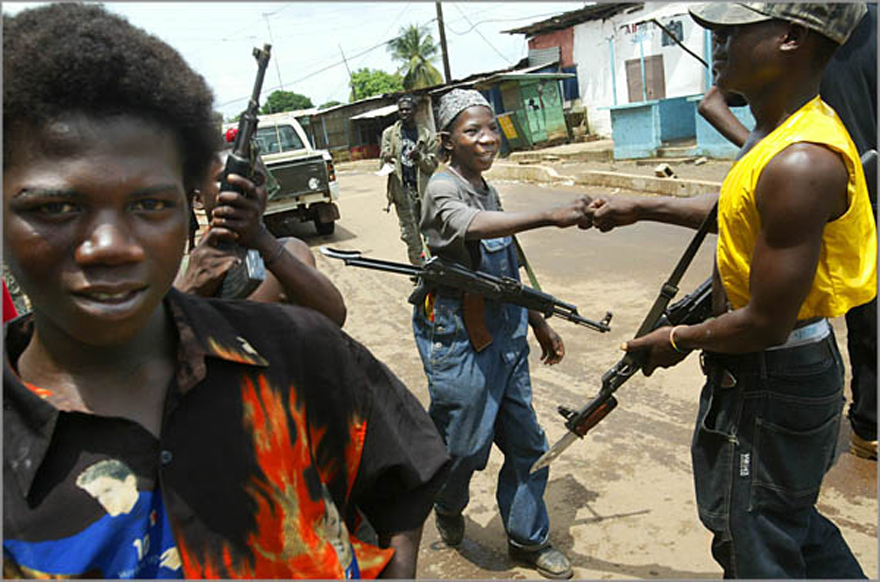 Rebels Attack Outside Monrovia
