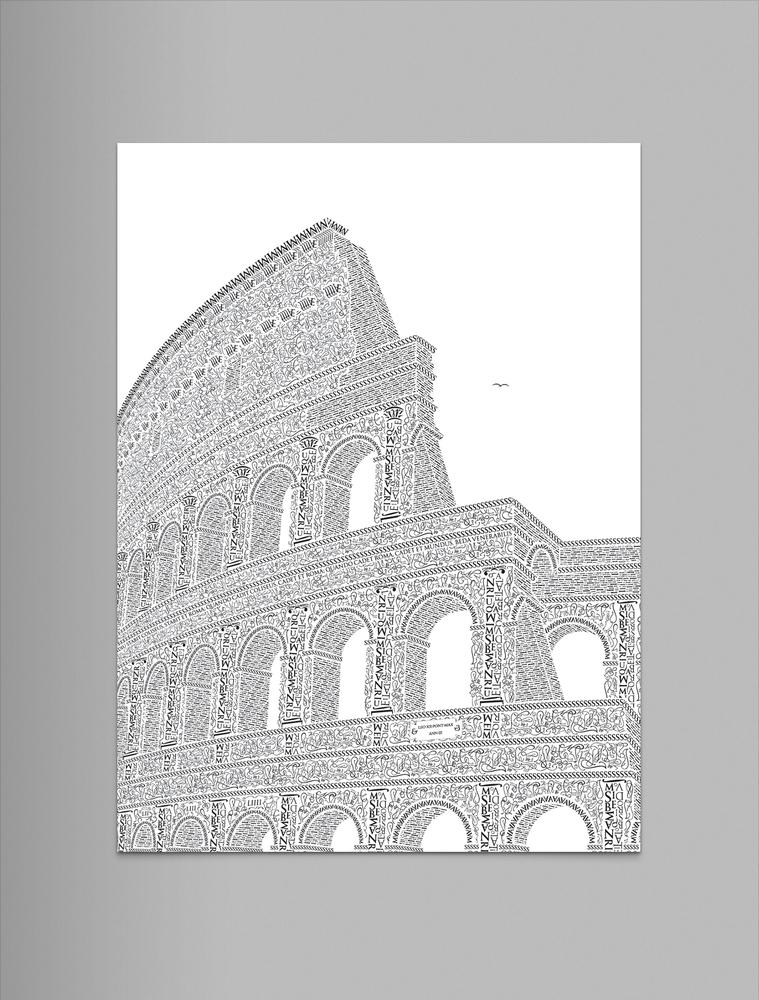 Letter-typo-coliseo-roma-oldskull-8