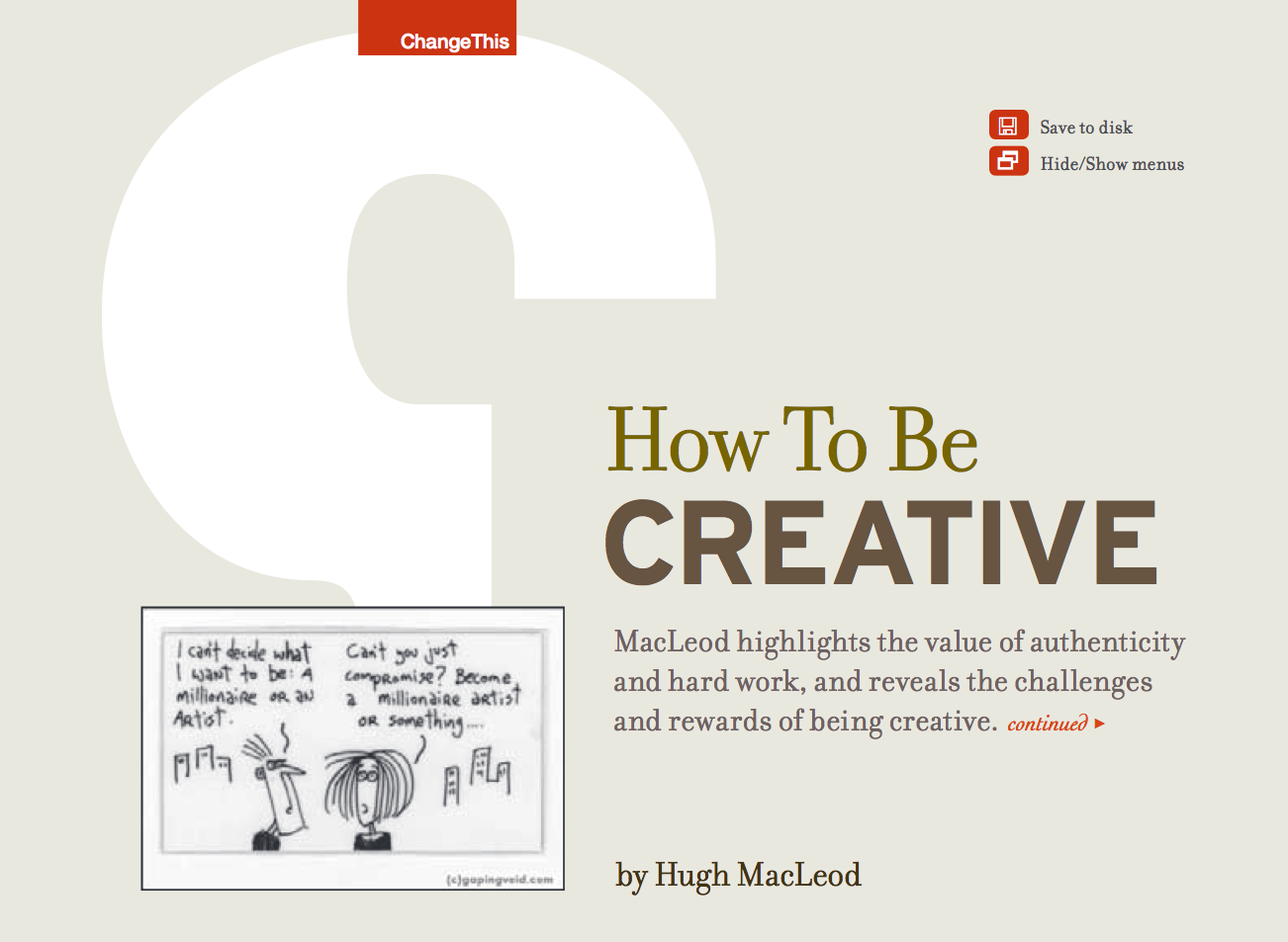 Libro de diseño gráfico gratuito en ingles y en pdf - how to be creative
