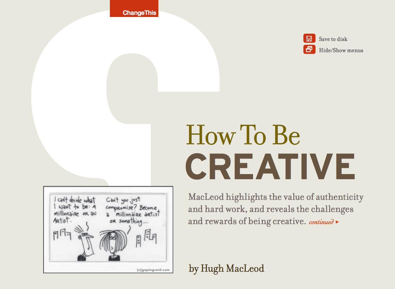 Libro de diseño gráfico gratuito en ingles y en pdf - how to be creative