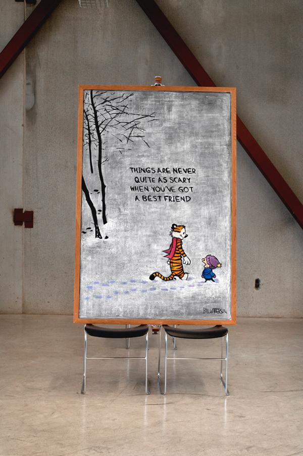 citas famosas en una pizarra illustration oldskull 13