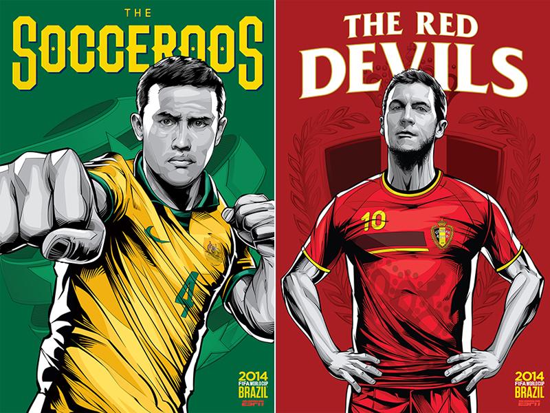 ESPN-ILUSTRACION-MUNDIAL-2014-AUSTRALIA-BELGIUM