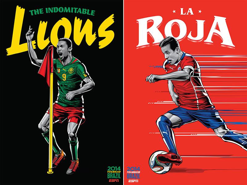 ESPN-ILUSTRACION-MUNDIAL-2014-CAMEROON-CHILE