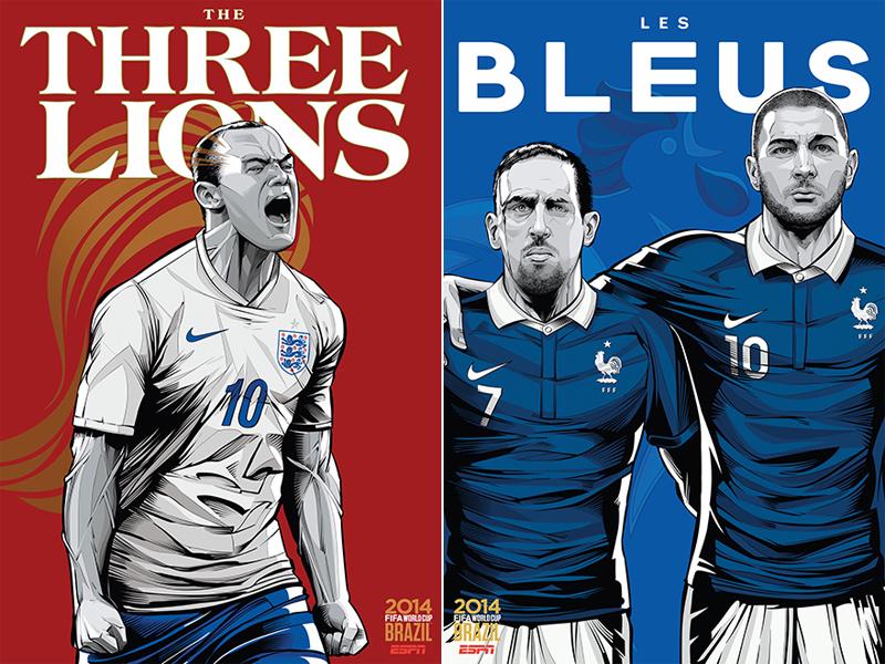 ESPN-ILUSTRACION-MUNDIAL-2014-ENGLAND-FRANCE