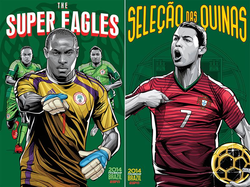 ESPN-ILUSTRACION-MUNDIAL-2014-NIGERIA-PORTUGAL