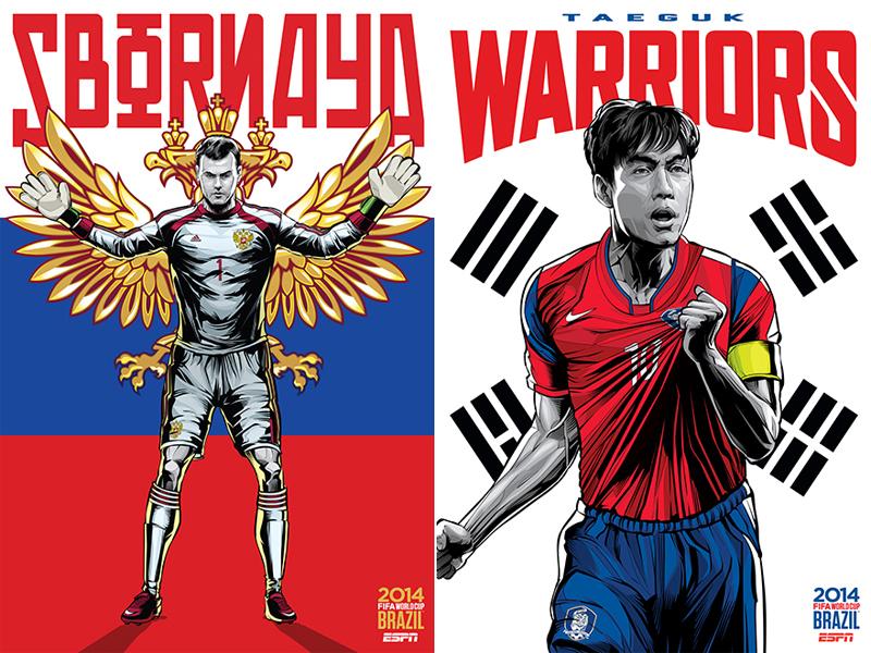 ESPN-ILUSTRACION-MUNDIAL-2014-RUSSIA-SOUTH-KOREA