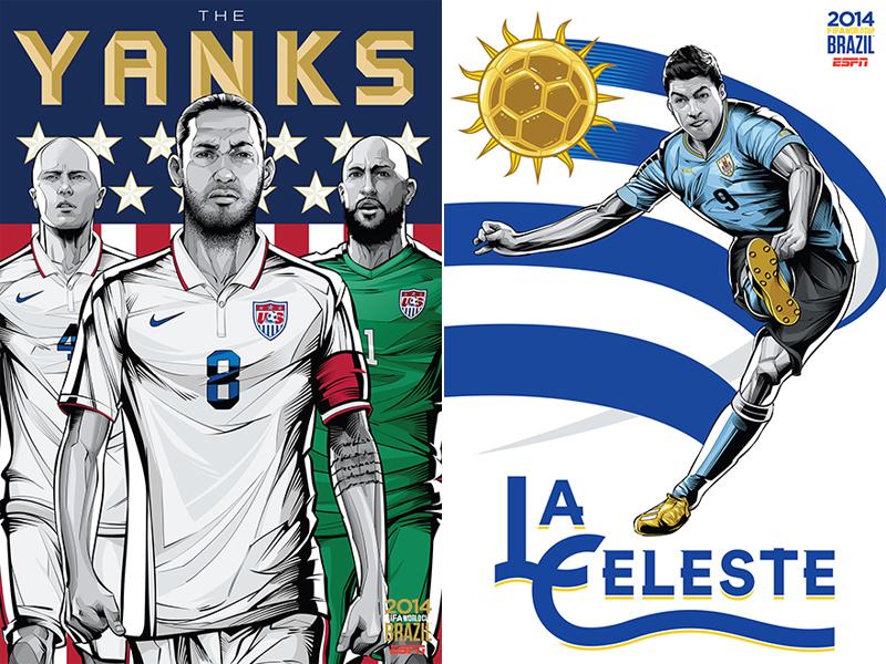ESPN-ILUSTRACION-MUNDIAL-2014-UNITED_STATES-URUGUAY