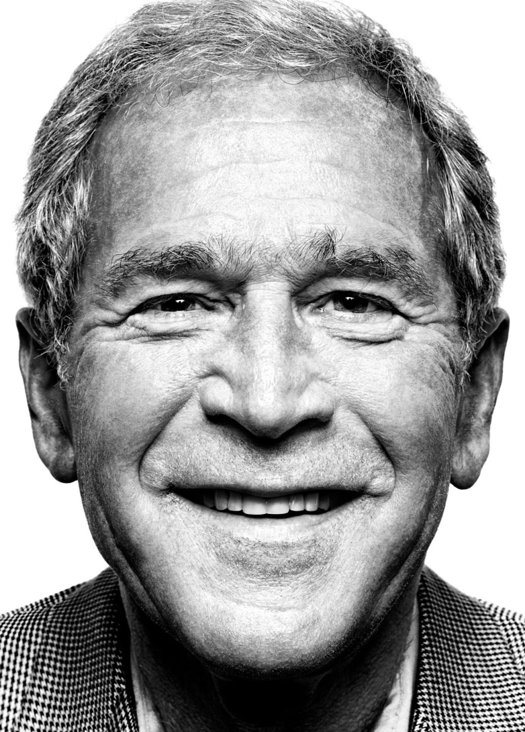 George W Bush portrait photography