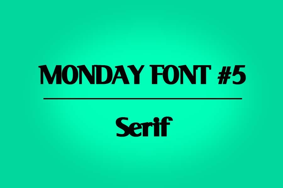 MONDAY-FONT#5