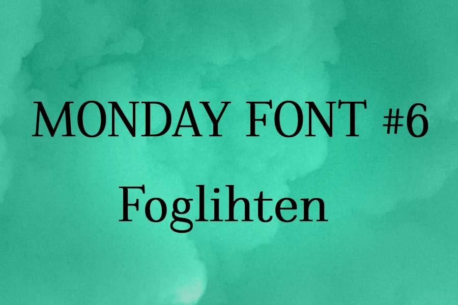 MONDAY-FONT#6