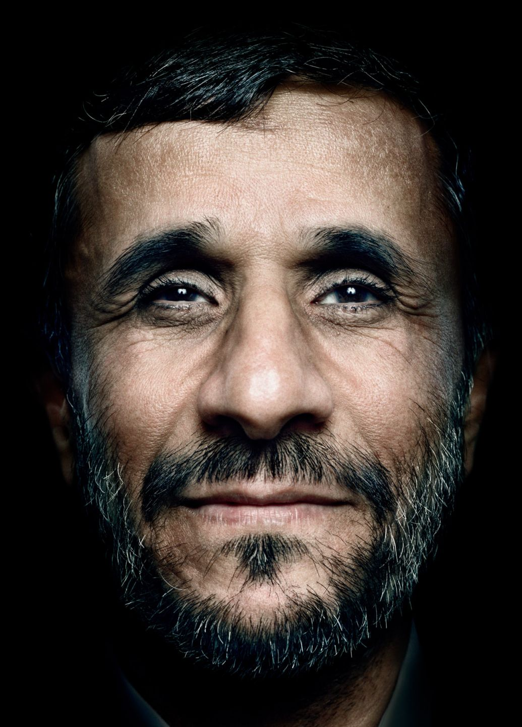 Mahmoud Ahmadinejad portrait photography