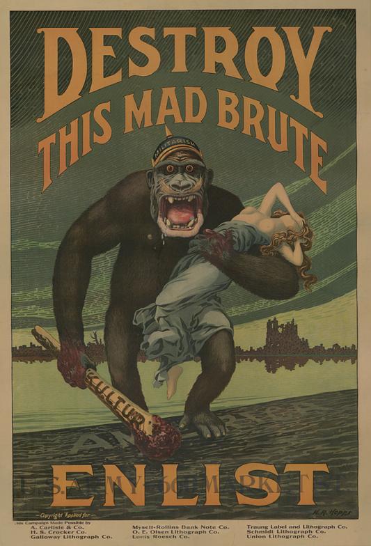 Propaganda_1guerramundial-ilustracion-oldskull-01