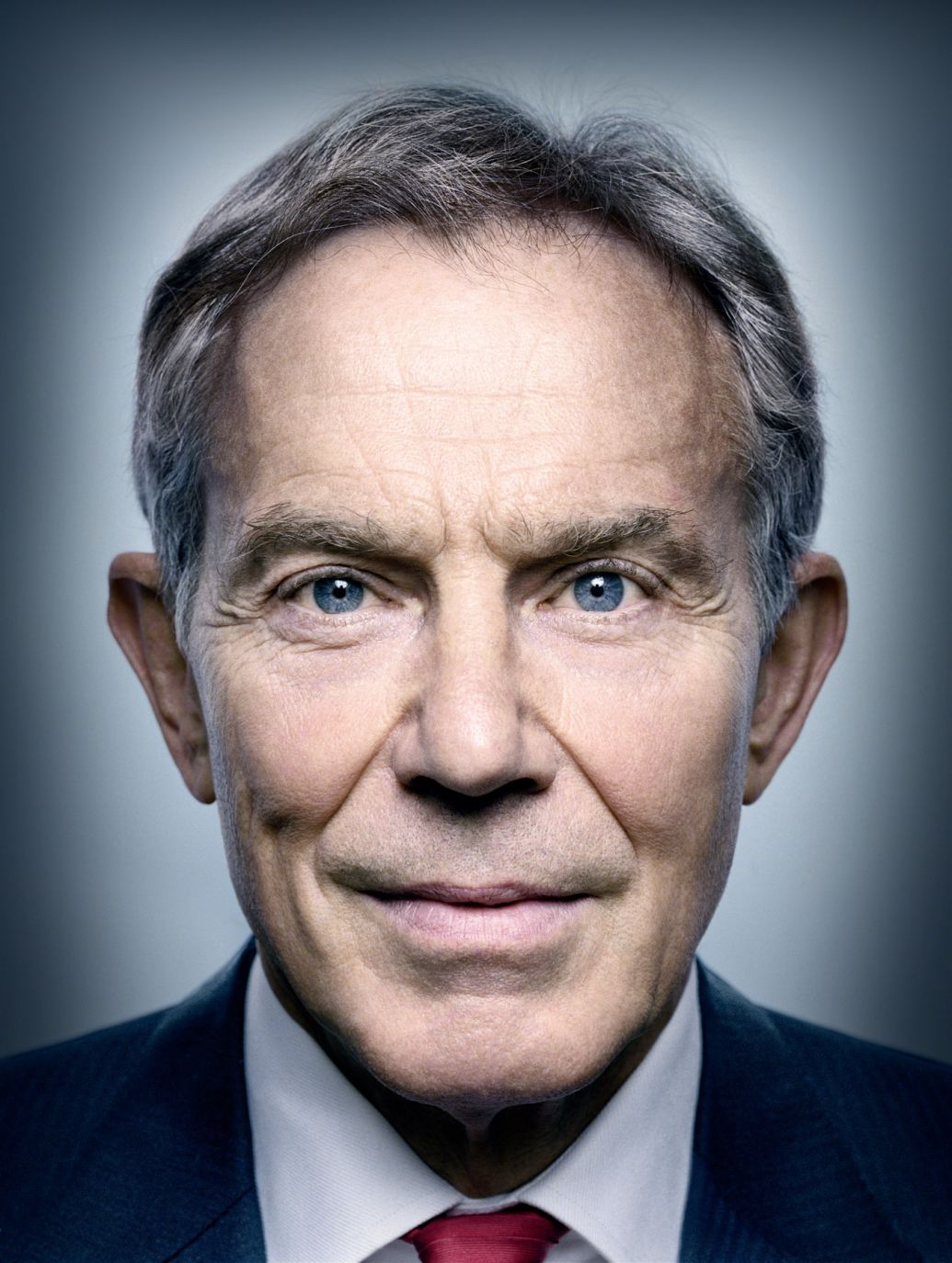 Tony Blair portrair photography