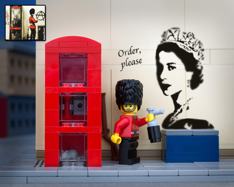 Royal Guard Grafitti
