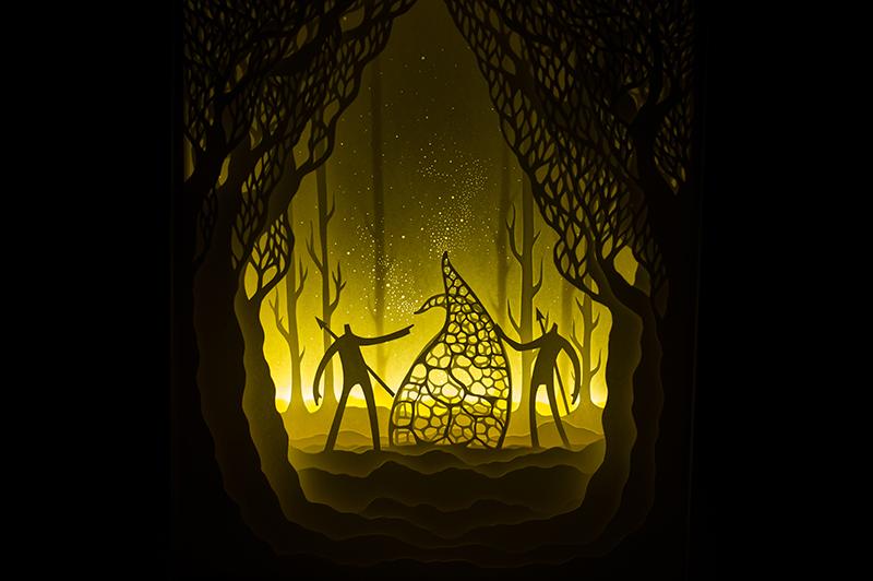 cajas de luz papel oldskull-1