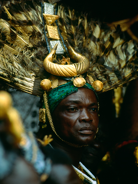Ashanti Royal Sword Bearer, Ghana