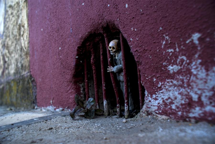 arte callejero en cemento