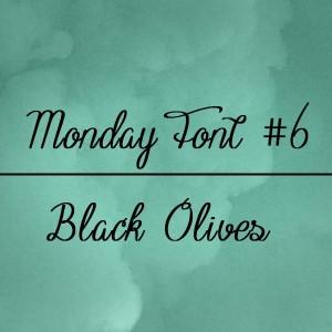 Fuente black olives gratis