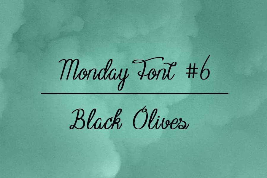 Fuente black olives gratis
