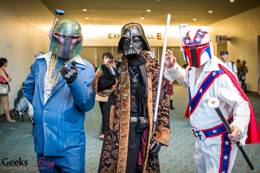 comic con cosplay darth vader star wars