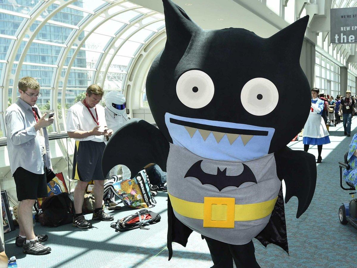 comic con cosplay btrman