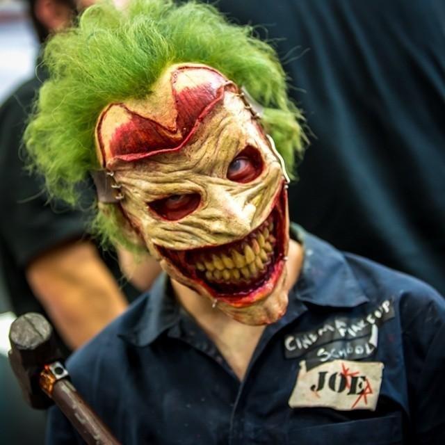comic-con cosplay joker