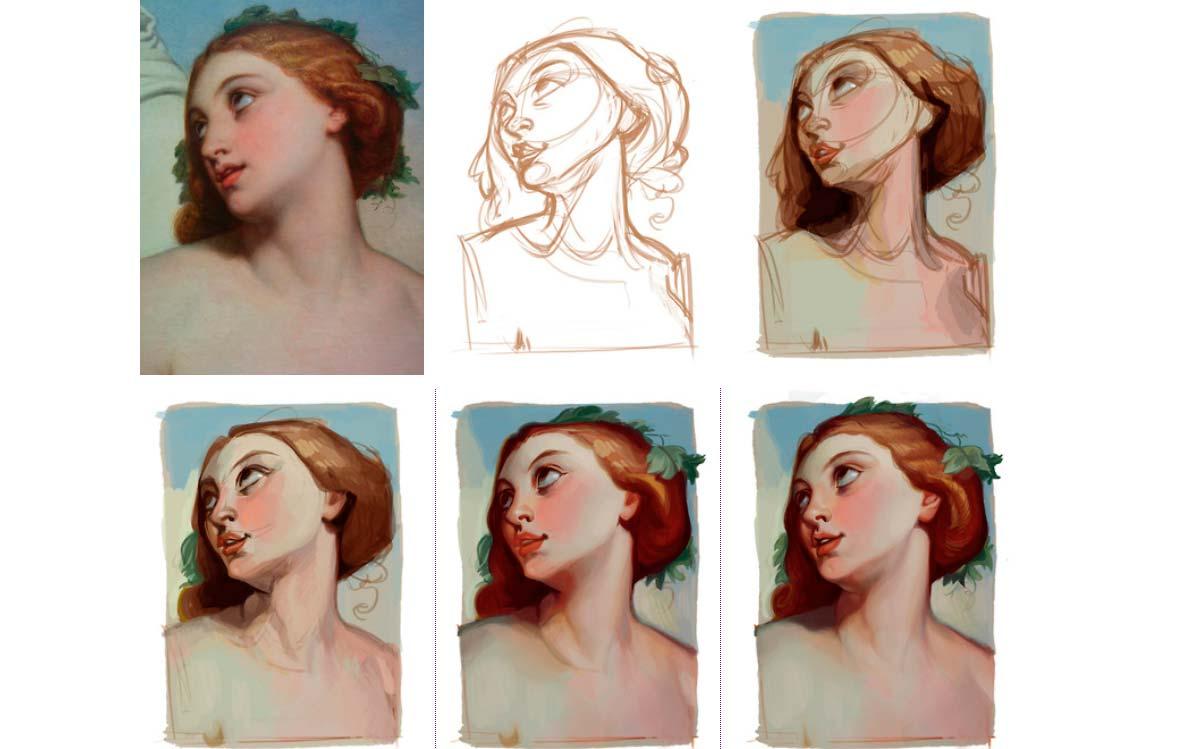 metodo de ilustracion de loish