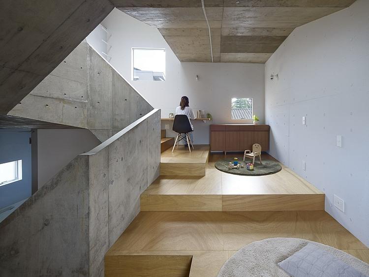 Nishiochiai, ejemplo de diseño arquitectonico y decoración