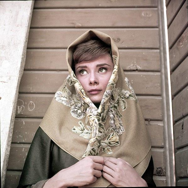 Audrey Hepburn Milton greene