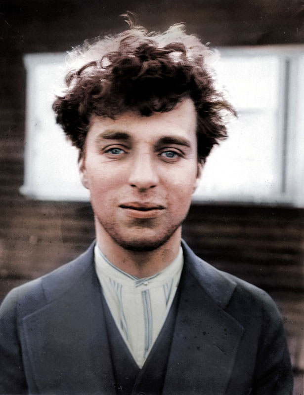 Charlie Chaplin at the age of 27 1916