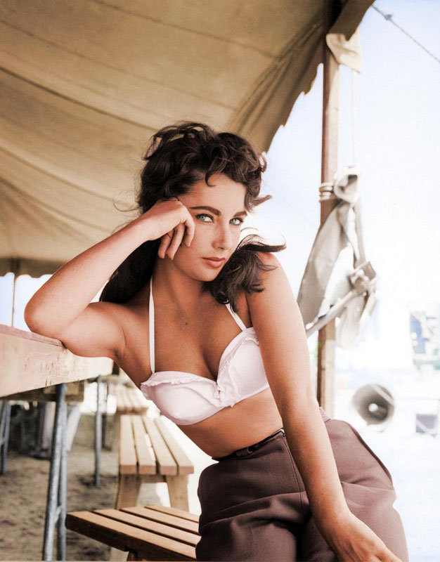 Elizabeth Taylor 1956
