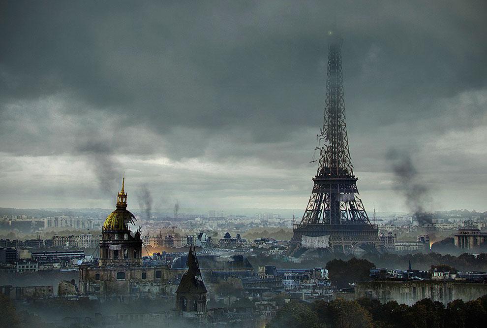 Paris en llamas