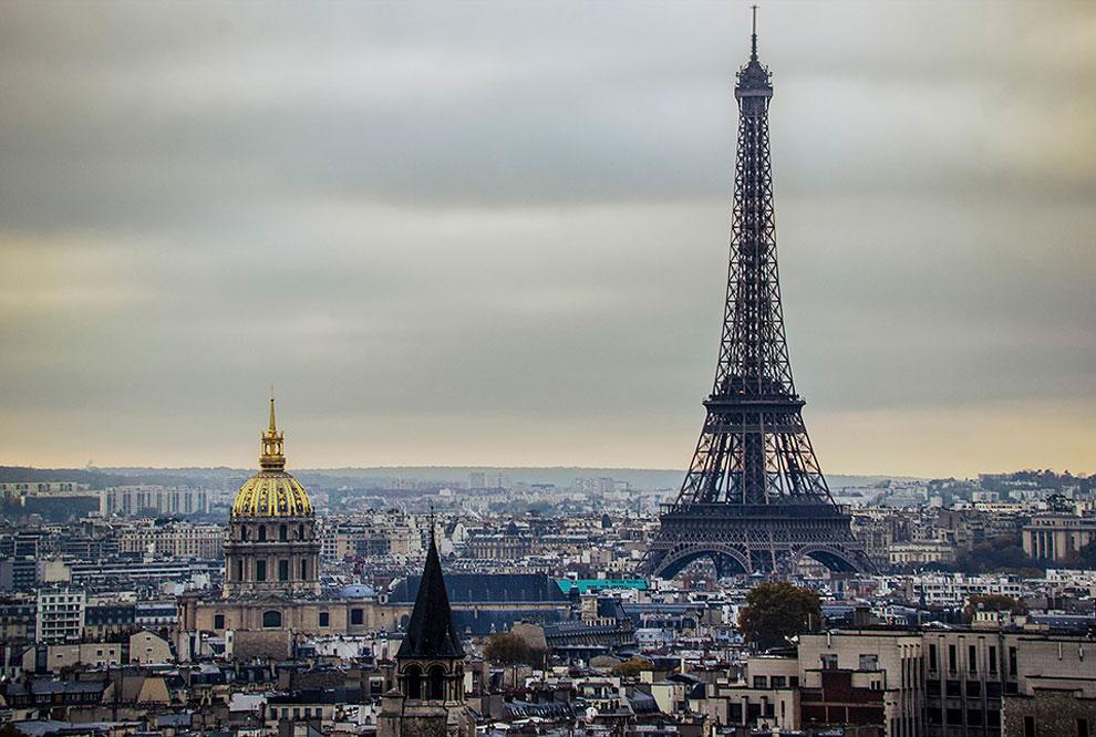 Lugares famosos post-apocalipticos Paris