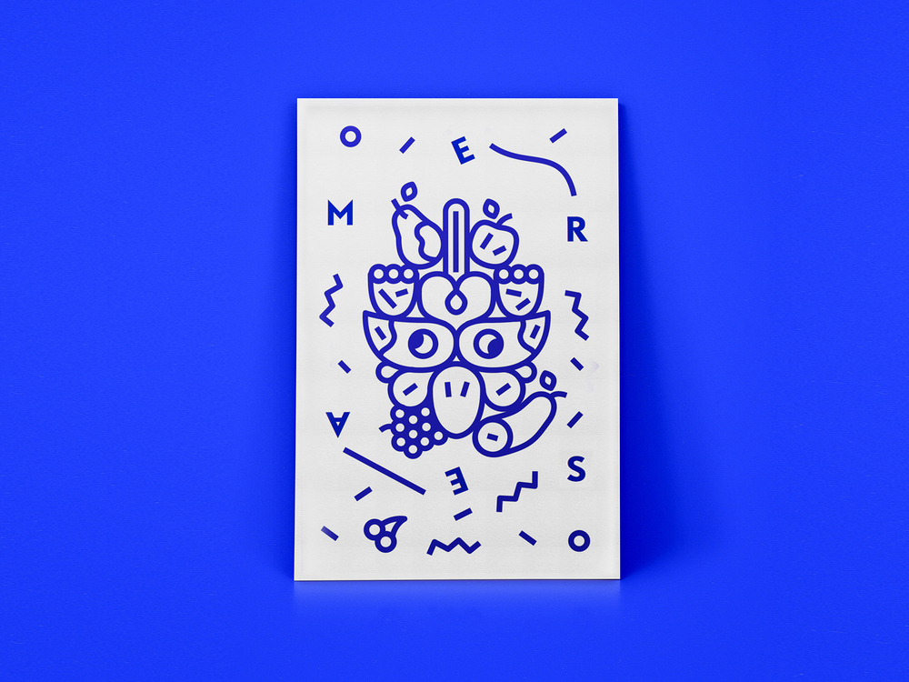 portada de revista tipográfica de michael manson