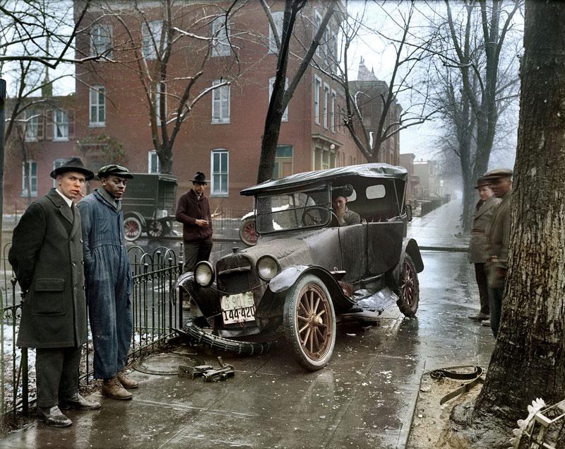 accidente en washington 1921