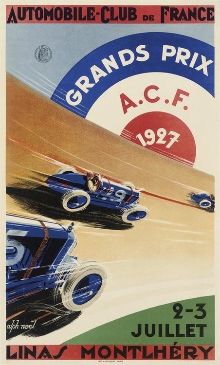 acf carteles de coches vintage