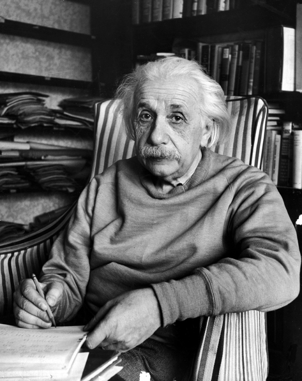 Albert einstein photo by Alfred Eisenstaedt
