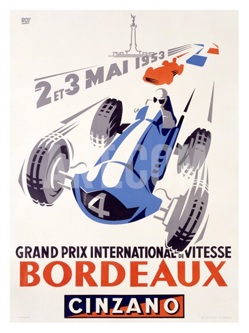 grand prix burdeos-carteles-coches