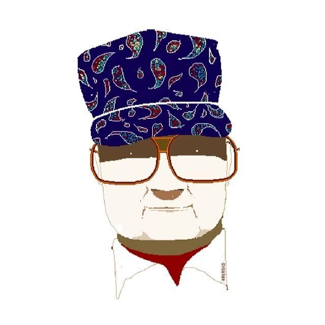 Abuelo hal, maestro del paint
