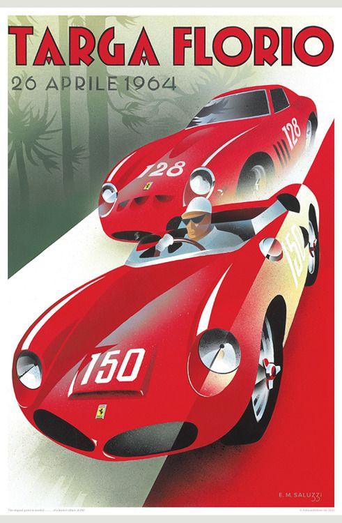 targa carreras de coches