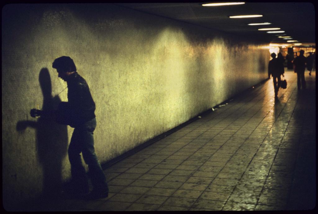 Interior del metro de londres
