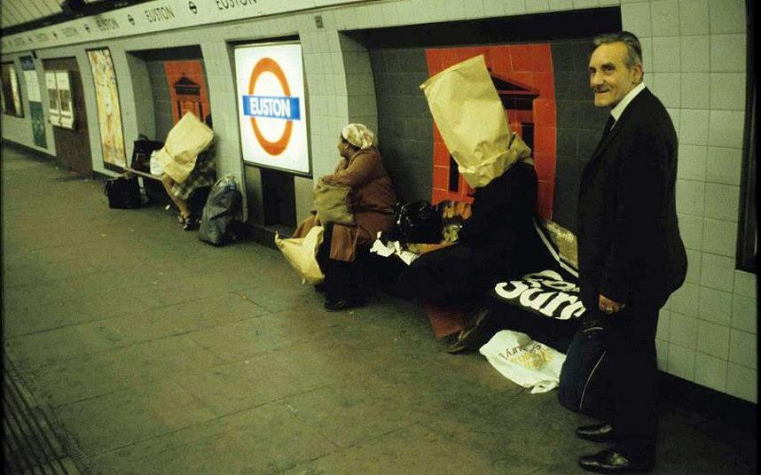 Parada de Euston en el metro de londres