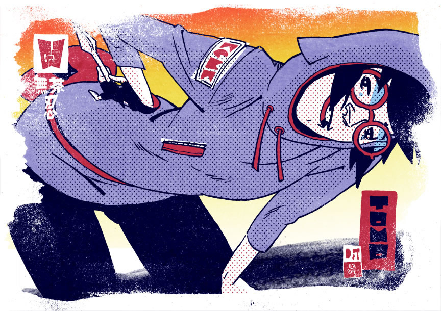 Ronald Wimberly crazy illustrations 0