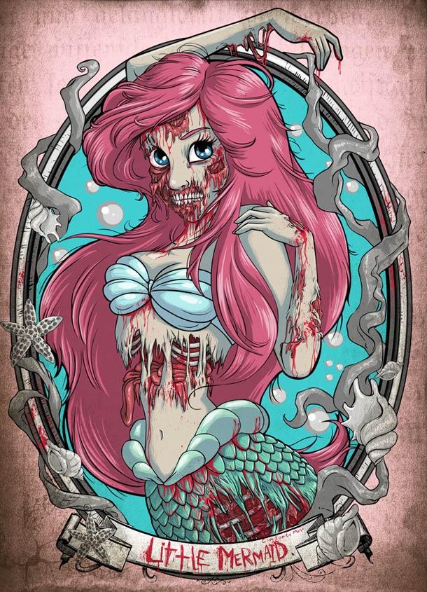Zombies-Disney-Princesses-ariel