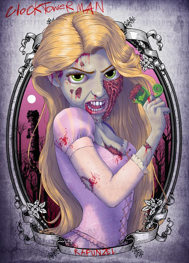Zombies-Disney-Princesses-rapunzel