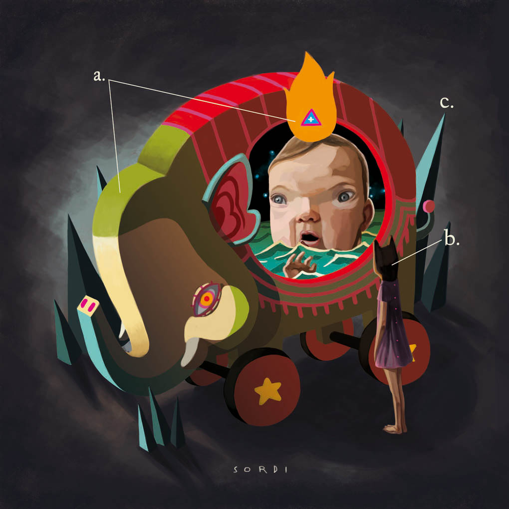 Pintura pop art de alejandro sordi