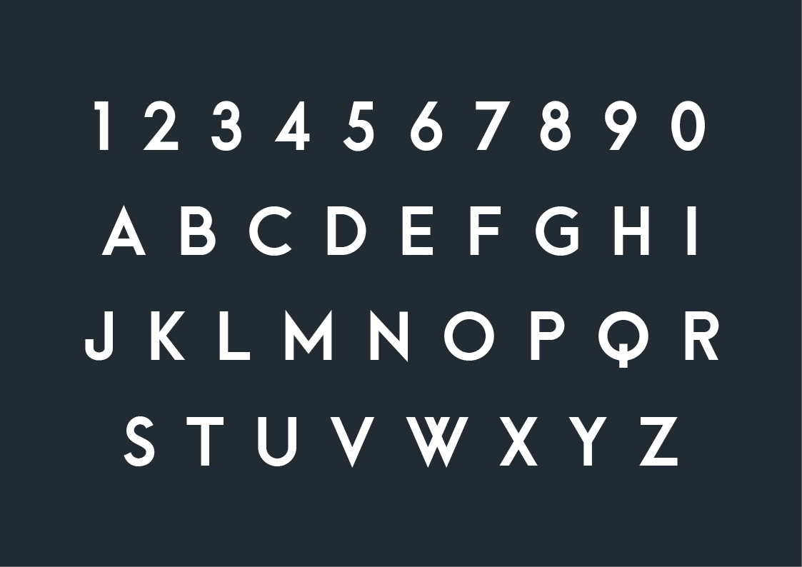 arca free font typography 1