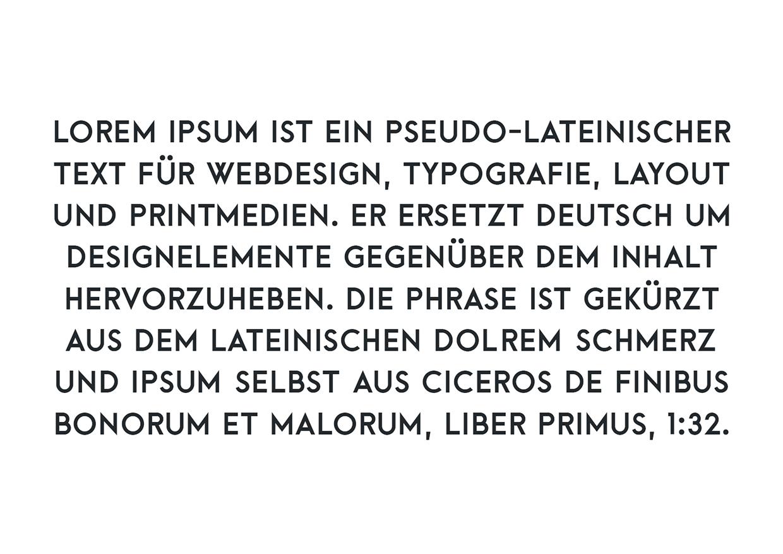 arca free font typography
