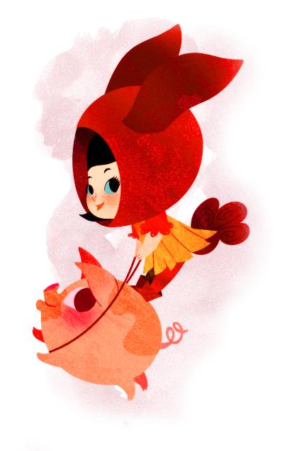 lilidoll illustration cute 1