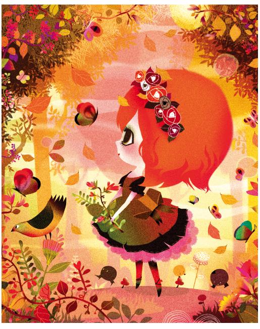 lilidoll illustration cute 10